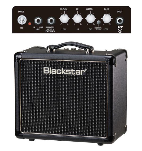 5 瓦以下的真空管音箱:BLACKSTAR HT-1R