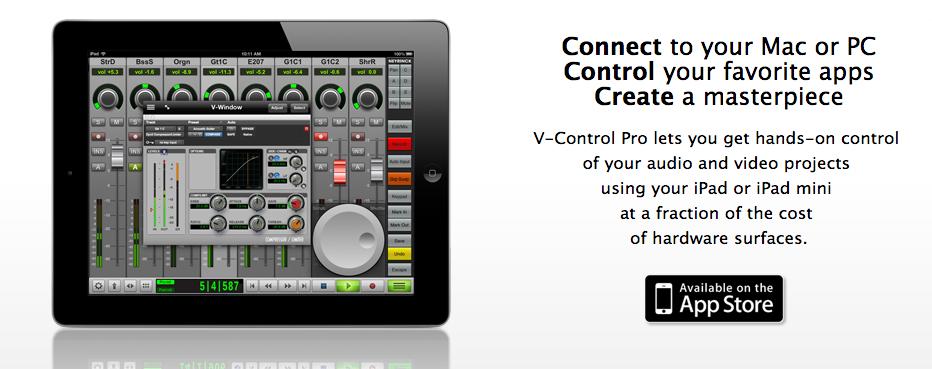 DTM:V Control Pro 混音控制器軟體介紹