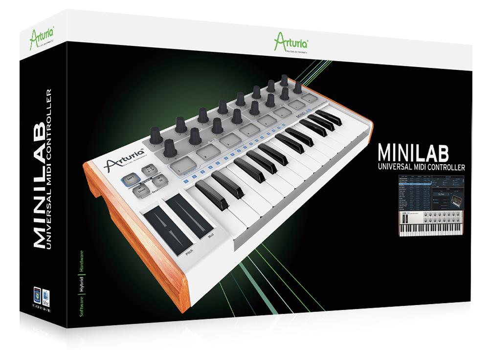 機材介紹:MINILAB(MIDI 控制器)