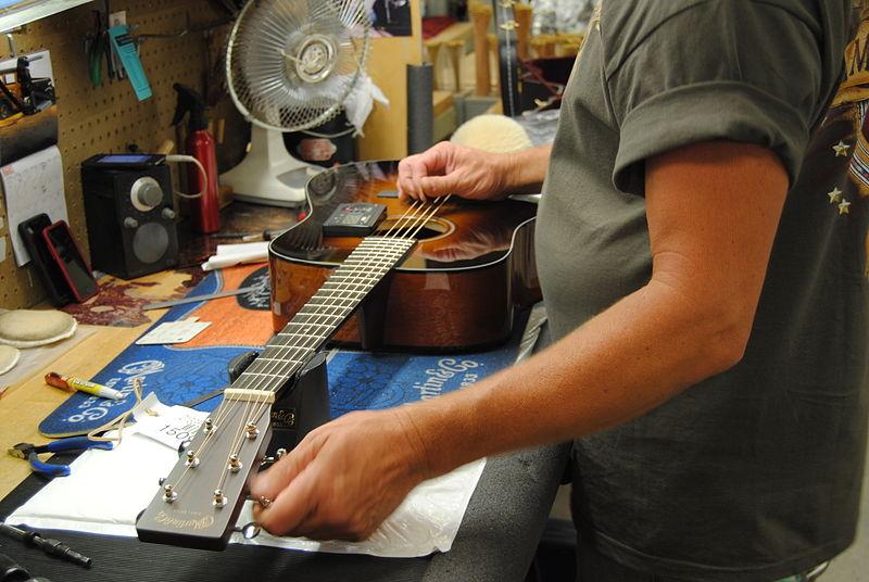 GTR:在進行吉他修繕保養時的必備工具