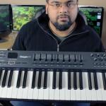 Logic Pro X 如何連接 M-Audio MIDI Keyboard ?