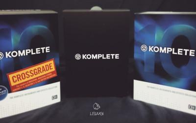KOMPLETE 10 的官網下單流程與開箱介紹