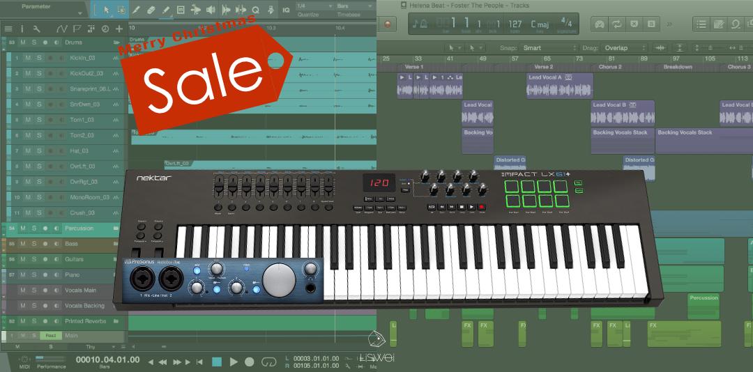 凡選購器材,就可獲得量身訂製的數位音樂課程!