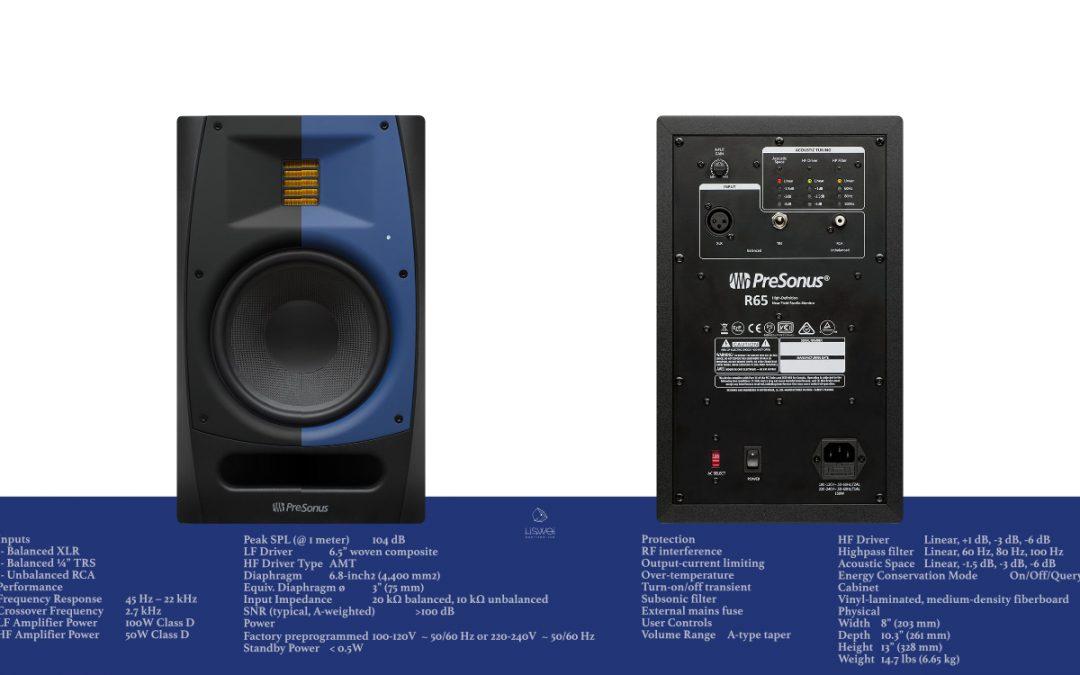 PreSonus R65 AMT / 主動式監聽喇叭
